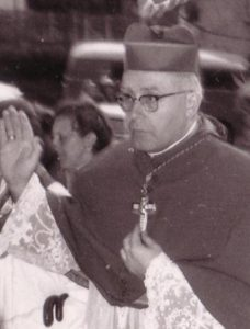 Bischof Josef Stangl war an den Exorzismen beteiligt.