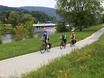 Radfahrer in Freudenberg