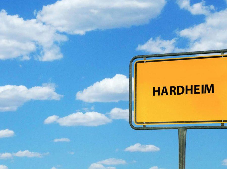 Hardheim, Känguru, Polizei, BlickLokal