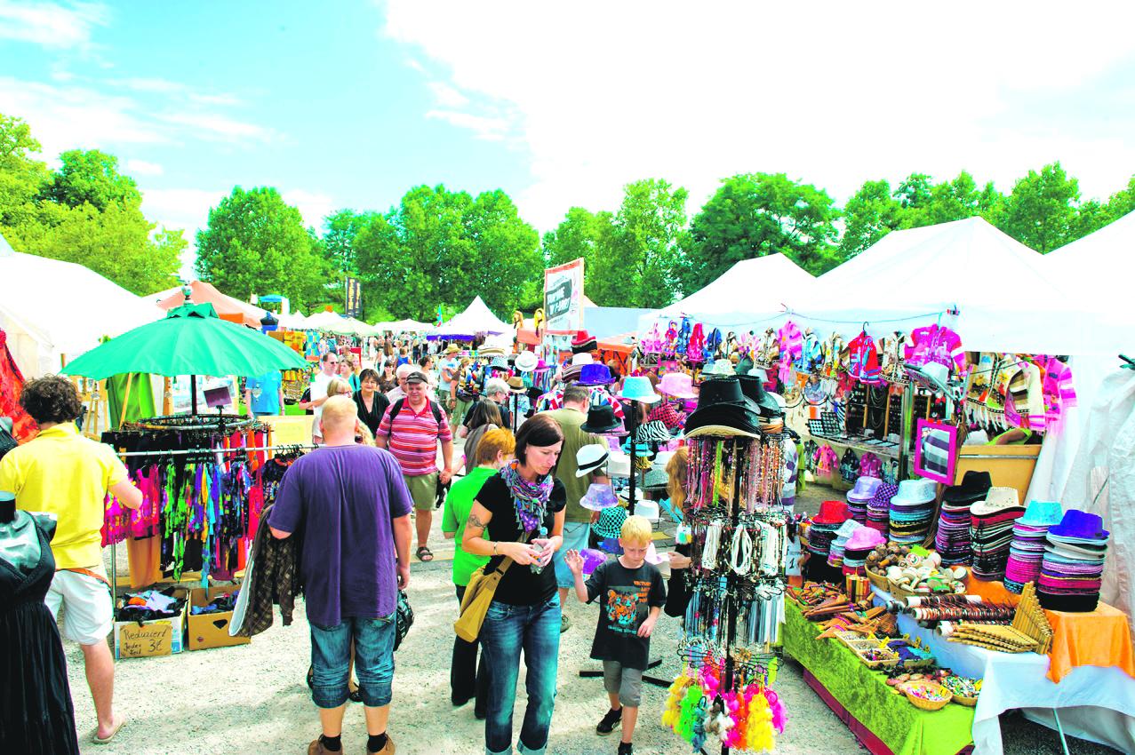 Afrika-Festival, Volksfestplatz