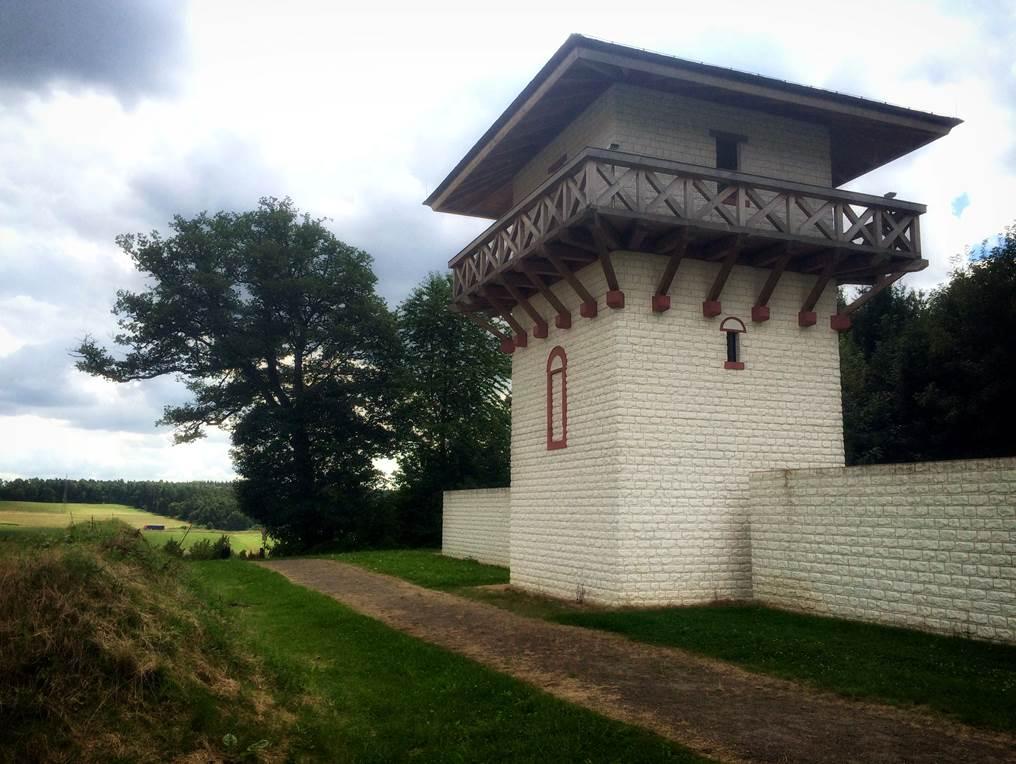 BlickLokal: Wachturm am römischen Limes in Osterburken