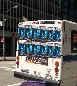 The Joshua Steeven Bus Werbung New York