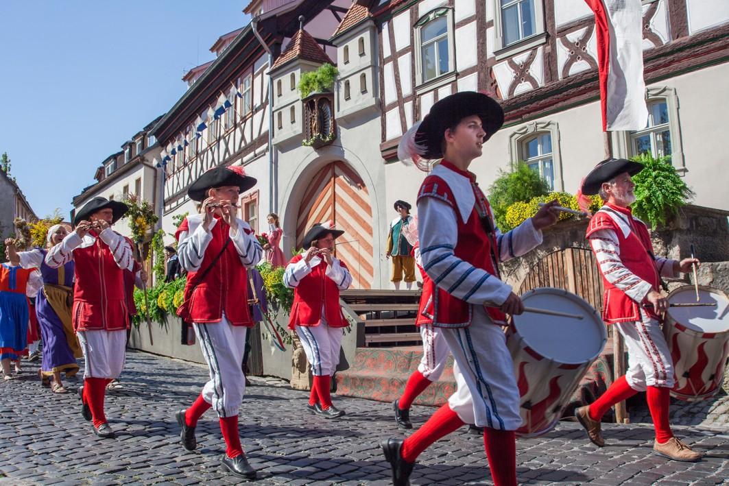 Münnerstadt, Heimatspiel, Aufführung, Tradition