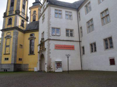 deutschordensmuseum, bad mergentheim, museum, gespräch, presse, blicklokal