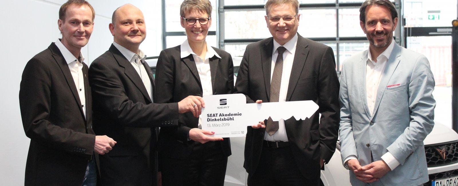 Eröffnung der SEAT Akademie, Dinkelsbühl