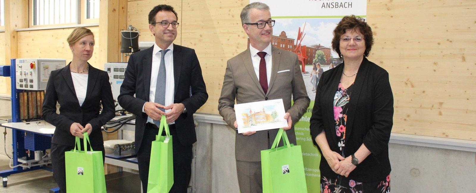 Eröffnung Campus Feuchtwangen