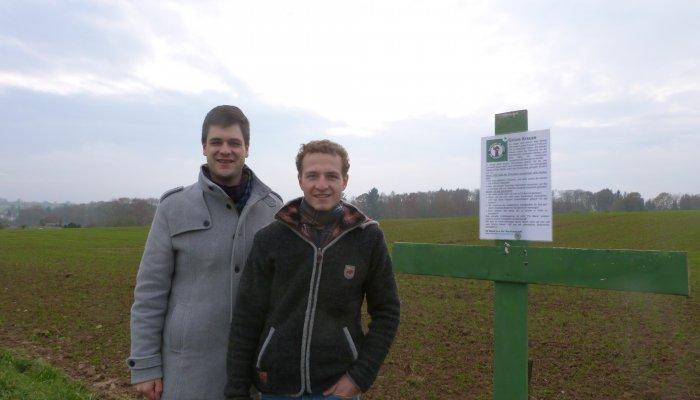 Lukas Schäfer und Thomas Kieser